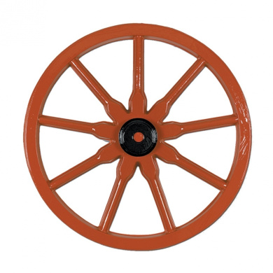 Beistle 55570 24-Pack Plastic Waggon Wheel, 60cm