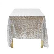 Koyal Wholesale Rectangle Sequin Tablecloth, 230cm by 340cm