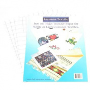 Lazertran Iron-on Inkjet Transfer/Lt Textile