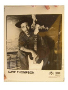 Dave Thompson Press Kit Photo