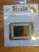 Sizzix Simple Impressions Embossing Folder Picture Frame, Rectangle #2