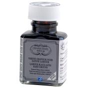 Charbonnel Black Satin Hard Ground 75 ml Bottle