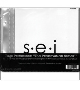 S.E.I. Preservation Series Page Protectors-10PK/15cm x 6 Inch