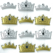 Jolee's Boutique Cabochons Dimensional Stickers, Crowns