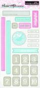 Teresa Collins Designs Sweet Afternoon Chipboard Elements 1