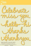 Jillibean Soup Wise Words Yellow Sentiments Stickers