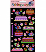 Sticko Classic Stickers-Cakes & Cupcakes