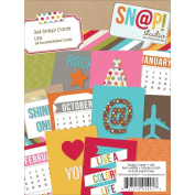 Sn@p! Life Double-Sided Cardstock Quote Cards 7.6cm x 10cm -