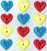Jolee's Boutique Cabochons Dimensional Stickers, Hearts