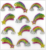 Jolee's Boutique Cabochons Dimensional Stickers, Rainbow