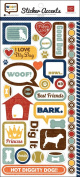 Echo Park - Woof Collection - Cardstock Stickers