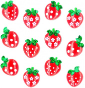 Jolee's Boutique Cabochons Dimensional Stickers, Strawberry