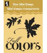 Inkadinkado Clear Mini Stamps, Fall Colours