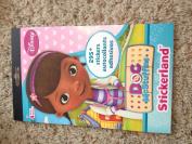 Disney Jr. Doc McStuffins Stickerland Sticker Book