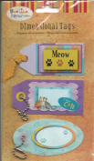 Cat Meow Dimensional Tag Stickers
