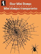 Clear Mini Stamps: Spider Web