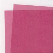 Translucent Coloured Vellum- Blush 48cm x 60cm Sheet