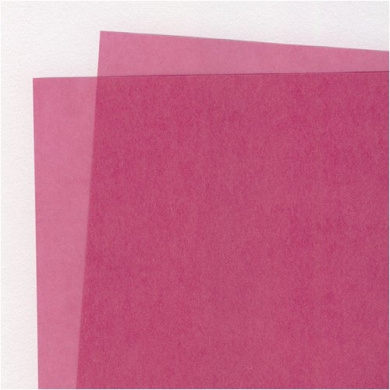 Translucent Coloured Vellum- Blush 48cm x 60cm Sheet