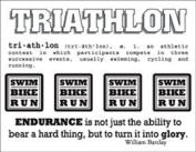 SRM Stickers Say It with Stickers Mini Triathlon Scrapbooking
