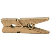 Mini Clothespins 2.5cm 25/Pkg-Gold