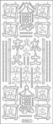 Elizabeth Craft Designs Asian Signs Peel Off Stickers 4x9 Sheet