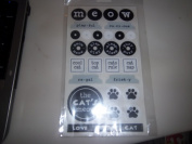 Decorative Stickers Cat Themed