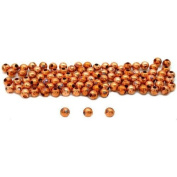 100 Round Ball Beads Copper Plated Jewellery Beading 4mm