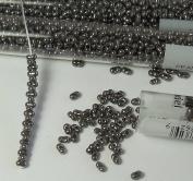 Pebble Lustre 2x4mm 6/0 Peanut Farfalle Butterfly Seed Beads 23 Gramme Tube