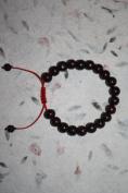 Tibetan Rosewood Wrist Mala Bracelet for Meditation or Yoga 9mm