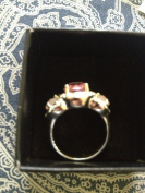 Avon Legacy Riches Ring Pink Size 7
