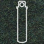 Matte Metallic Teal Iris (Db327) Delica Myiuki 11/0 Seed Bead 7.2 Gramme Tube Approx 1400 Beads