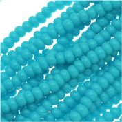 Czech Seed Beads 11/0 Blue Turquoise Opaque