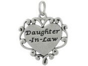 Sterling Silver Daughter-in-Law Charm