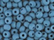 Seed Beads 6/0 Czech Matte (a full 38 gramme pack) over 400 colours available individually!, Opaque Turquoise