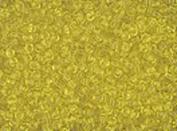 Seed Beads 10/0 Czech Translucent Yellow