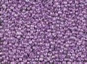 Seed Beads 11/0 Czech Lined Purple