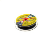 Stretch Magic Black 1mm/ .039 in 25 Metres Bead and Jewellery Cord