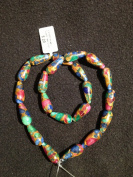 Mosaic Quartz Tear Drop 8x20mm 21pcs 15.5''per Strand Jewellery Making Craft Beading Loose Beads