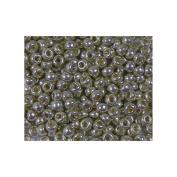 Duracoat Galvanised Pewter Miyuki Japanese round rocailles glass seed beads 11/0 Approximately 24 gramme 13cm tube
