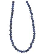 Tennessee Crafts 1075 Semi Precious Blue Aventurine Round 4mm Beads, 49-Piece