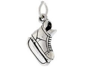 Sterling Silver Hockey Skates Charm