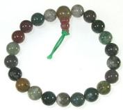 Fancy Agate Wrist Mala 21 Bead