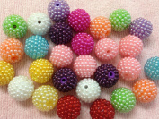 10pc 20mm Acrylic Berry Gumball Chunky Bubblegum Beads Bracelet Earrings Necklace Beading Supplies