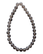 Tennessee Crafts 1385 Semi Precious Smoky Quartz Round Beads, 6mm