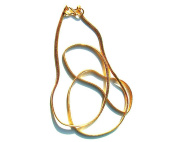 46cm Gold Plated Pendant Chain Hand Crafted from Pure Silver and Then Plated with Real Gold for That Special Look.