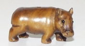 Hippo ~ Ojime Bead
