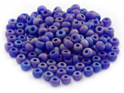 Beaders Paradise LT6E71 Czech Glass Capri A.B. Matte 6/0 E-Beads in a Tube