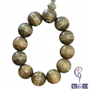Pockwood Beads Bracelet in The Great Compassion Mantra