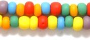 Preciosa Ornela 6SB100-M Czech Seed Bead, Opaque Mixed Colours Matte, Size 6/0