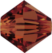 Create Your Style. Elements 6mm Bicone Crystals, Red Magma